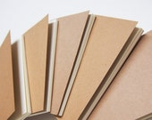 Set of 5 Blank inserts for traveler's notebook