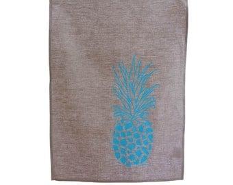 Juice It Up Blue Pineapple Tea Towel
