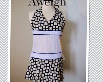 Anchors Aweigh Lingerie Apron