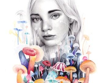 Hallucinogen girl
