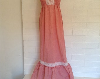 Vintage Maxi 1970's dress
