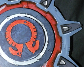 "Borderlands - Athenas Aspis Shield - handmade Cosplay Prop ""Made to Order"""