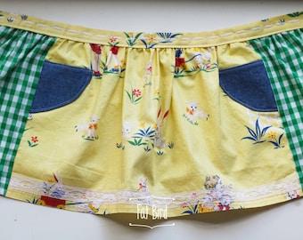 Child's Vintage Spring Apron