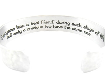 Everyone has a best friend during each stage of life but only a precious few have the same one - Best Friend, Friends, Friends Gift,