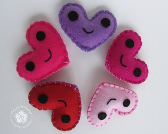 Heart Plush Valentine Stuffed Animal Valentine's Day Gift