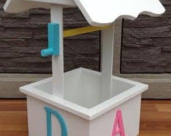 Baby Shower Wishing Well - Wishes for Baby - Handmade