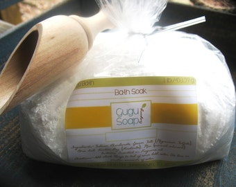Bath Soak - Bath Salts - Foot Soak - Bath Softening - Choose Your Scent - Spa Party - Home Spa