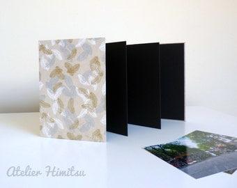 album photo accord on leporello papier n palais taupe. Black Bedroom Furniture Sets. Home Design Ideas
