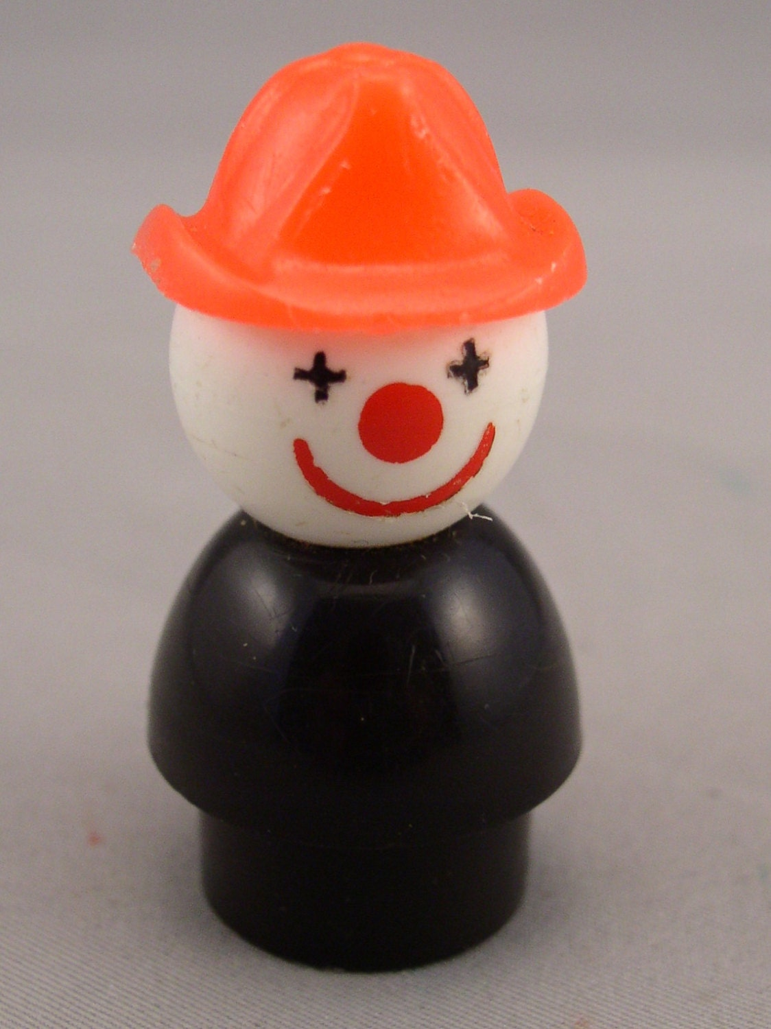 Fisher price clown fireman little people fp vintage by smntoys for Clown fish price