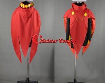 Ghirahim Cloak Cosplay Costume from The Legend of Zelda Skyward Sword  - Custom made in Any size