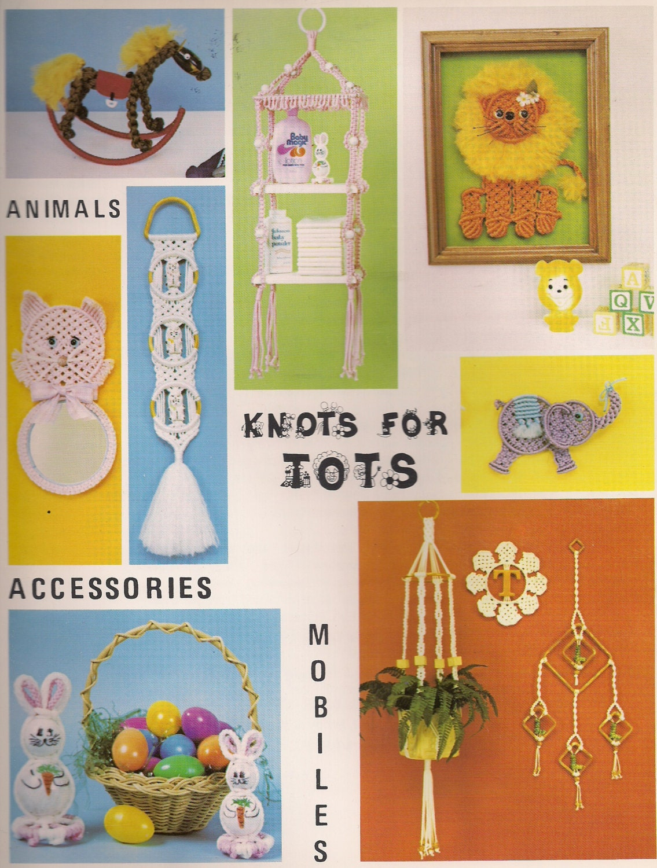 Macrame Craft Book - Knots for Tots - Nursery & Kids Decor