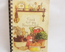 1986 Cookbook - Food for my Household - TSPS Operators Fund Raiser