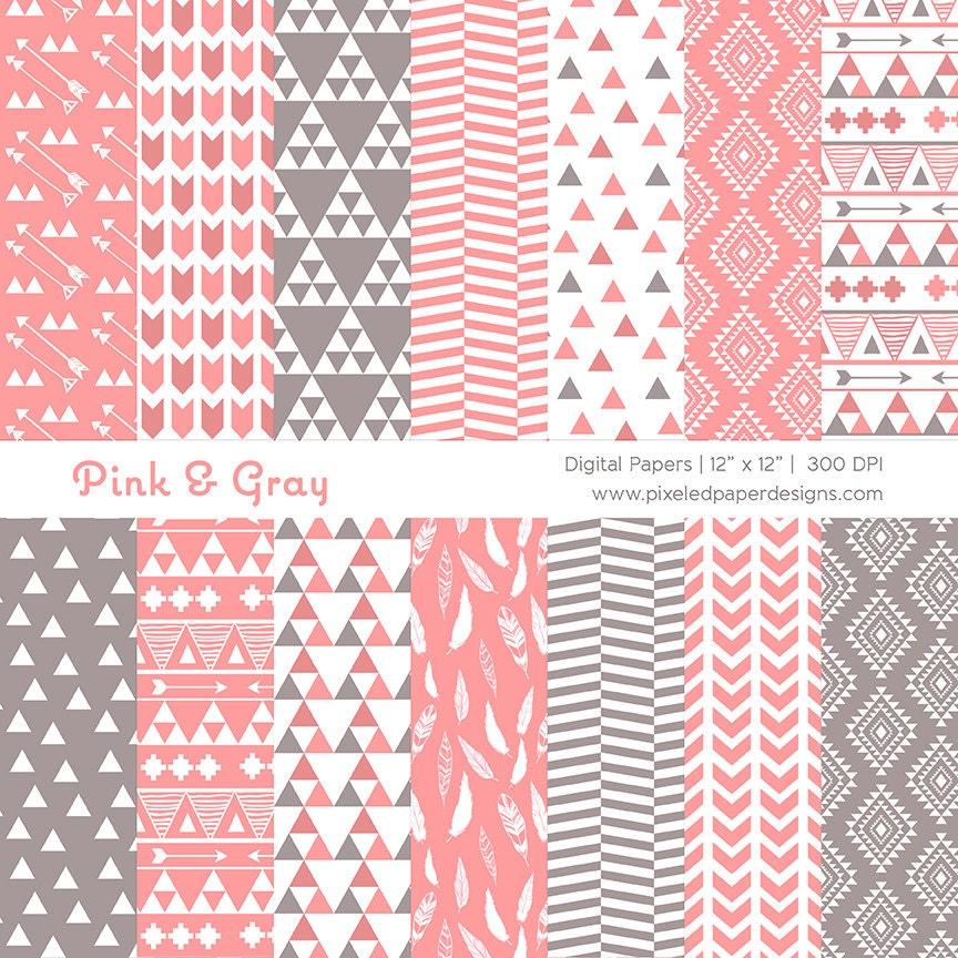 Pink Tribal Pattern Tumblr
