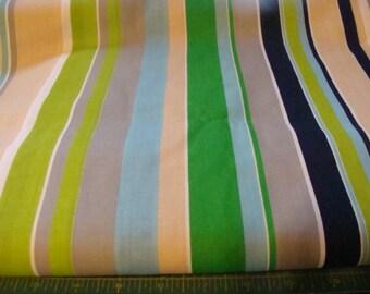 Klopman Mills Striped Cotton fabric bty
