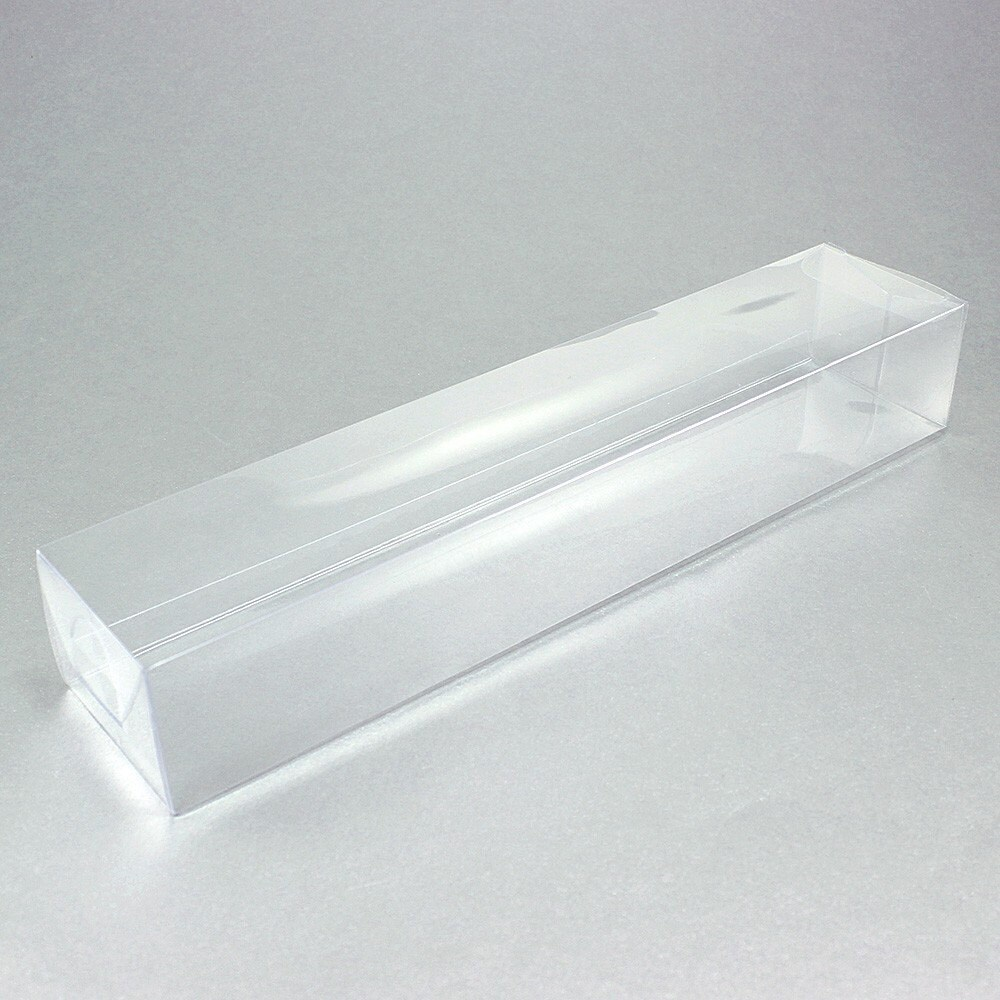 Long rectangular clear favor boxes pack of