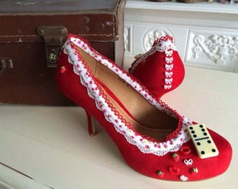 Custom rockabilly shoes (Exclusive package)