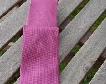 D Pink Men's Tie