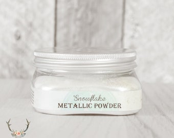 Vintage Storehouse Metallic Powder {Snowflake}