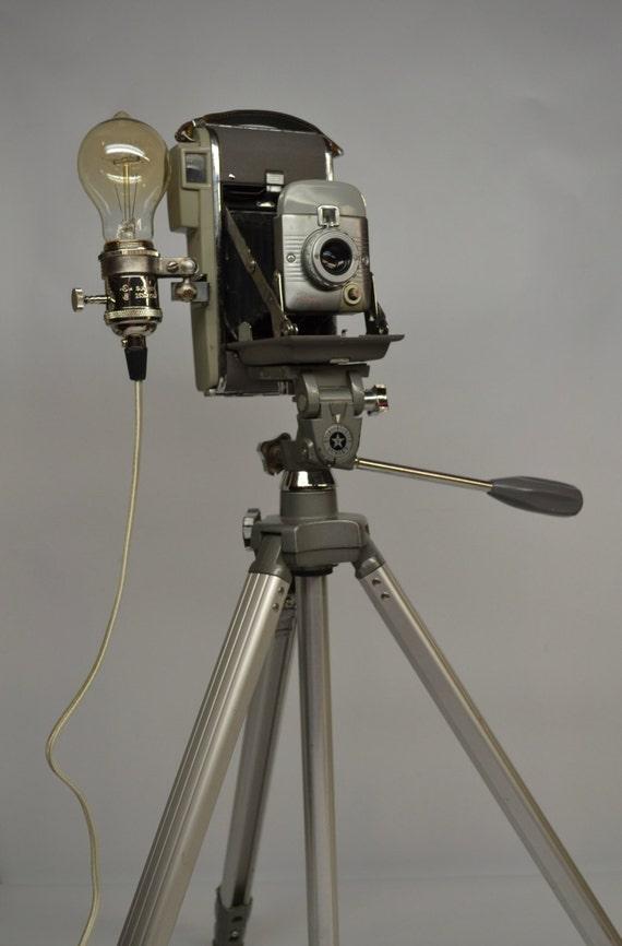 Polaroid Land Camera Tripod Floor Lamp Polaroid Land Camera