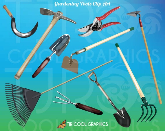 Landscaping tools clipart the image kid for Gardening tools clipart