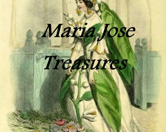 "Vintage ""Personified Flowers""  - Digital Download"