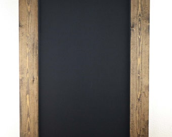 Set of Two 36x24 Rustic Framed Chalkboards, Wedding Sign, Chalkboard Sign, Christmas Gift, Holiday Decor, Mantel, Sign, Gift for Her