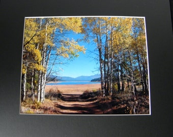 INSPIRATIONAL WALL ART by Pam's Fab Photos, Scenic Landscape; Frame-Ready Decor, Small Space Gift Idea
