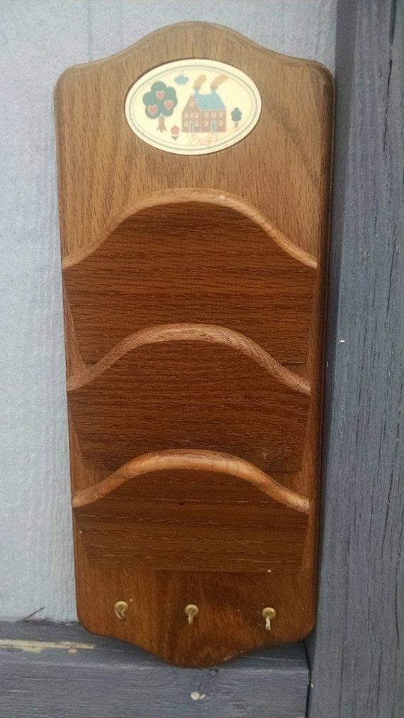 Sale Vintage Vermillion Wood Products Mail By Treasuresbythegulf