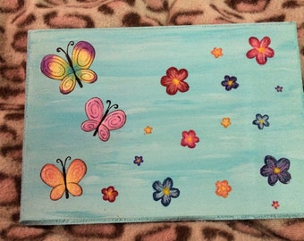 Butterfly Wooden Plaque