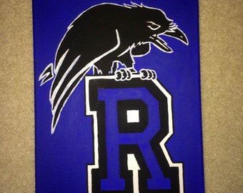 ONE TREE HILL Ravens Painting