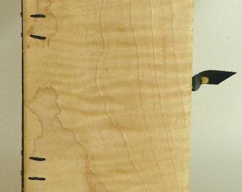 Coptic-Bound Flame Birch Cover Book