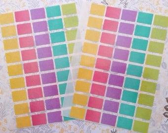 225 pieces tiny bow label mix colors