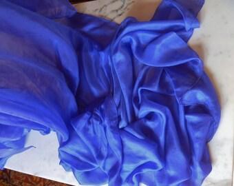 4 yd. Silk Bellydance Veil Lavender Silk Veil