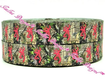 Tree Browning Deer Ribbon