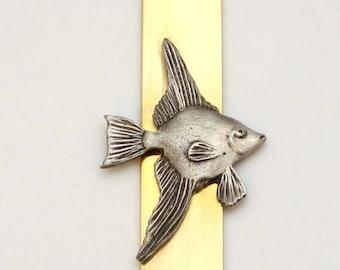 Angel Fish Letter Opener (paper knife), Handmade, Gift Boxed (h)