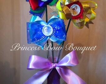 Disney Princess Hair Bow Bouquet