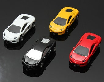 Hand-made Lamborghini car shape USB flash drive