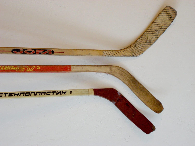 Old Ice Hockey Sticks - Bing images