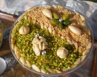 Zgougou ,aleppo pines,Assida Zgougou,Mouled of the Prophet ,Tunisian, 500 gr.