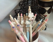 Hello Kitty Ball Point Pen - for school, office, planner, books, and scrapbooking