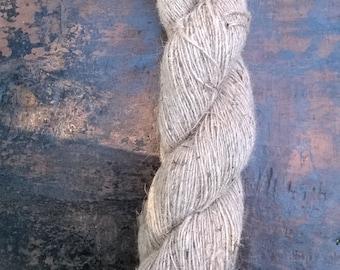 Organic Machine Spun Hemp Yarn - Natural