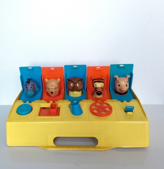 Toys That Pop Up : Vintage disney winnie the pooh pop up toy by retroalleyvintage