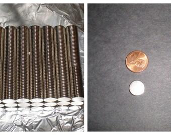 """500 pieces 1/2"""" x 1/16"""" Neodymium Magnet Grade N35"""