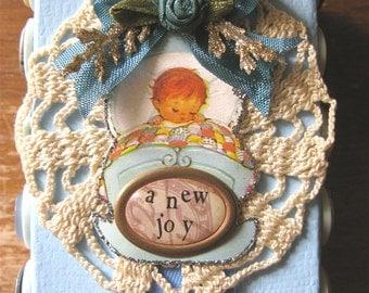 OOAK Baby Keepsake Box * Baby Boy Gift Box Handmade * Baby Keepsake * Baby Shower Gift * Newborn Boy * Baby Boy Box * New Mom * CardsinStock