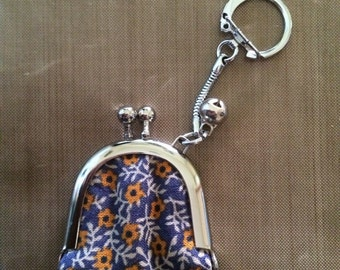 Handmade Mini Coin Purse Key Chain
