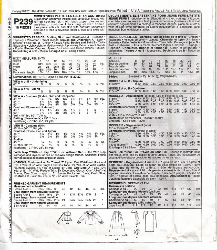 White tudor apron -  3 00 Shipping