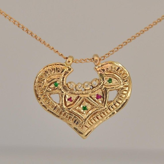 fine jewelry necklace 14k gold necklace solid gold pendant