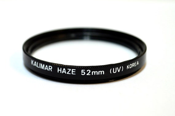 52mm UV filter Haze by Kalimar - Camera Lens Filter - Excellent Lens Protector or for Use in Black and White Photography