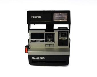 Polaroid Spirit 600 Amtrak Edition - Collector's Piece [includes original box and original instructions book]