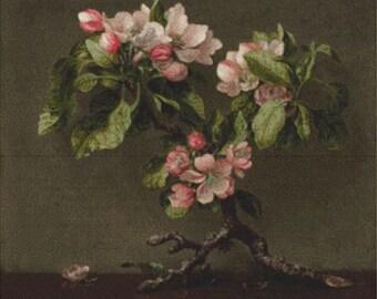 Apple Blossoms PDF Cross Stitch Pattern